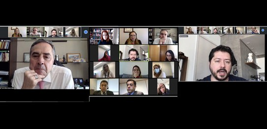 Eleições 2020: Presidente do TSE conversa com biólogo Átila Iamarino para ouvir sugestões